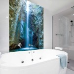 Tallest Waterfall bathroom tiles