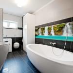 Tropical Waterfalls bathroom tiles