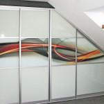 Swirly Stirpes wardrobe doors