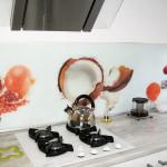 Fruity Front kitchen splashback