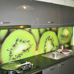 Kiwi Kiwi kitchen splashback