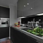 Modern City kitchen splashback