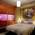 Violet Flowers bedroom&wardrobe