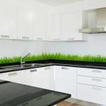 Green Grass kitchen splasback