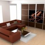 Cinnamon Coffee wardrobe doors