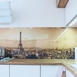 Panoramic Paris kitchen splashback
